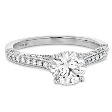 Hearts On Fire Diamond Band Engagement Rings