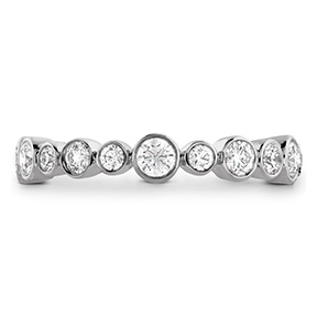 HOF Bezel Diamond Eternity Band