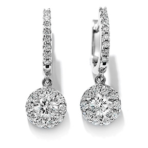 Fulfillment Diamond Drop Earrings