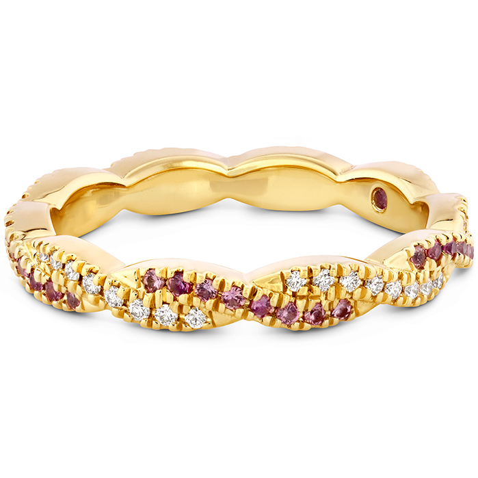 Harley Go Boldly Braided Eternity Power Band with Sapphires